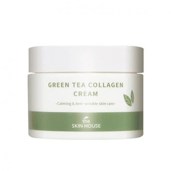Крем с коллагеном и экстрактом зеленого чая The Skin House Green Tea Collagen Cream