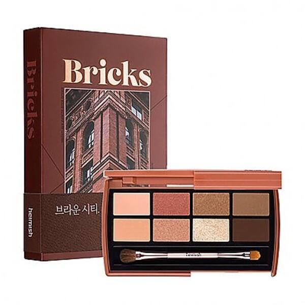 Палетка теней Heimish Dualism Eye Palette # Brick Brown
