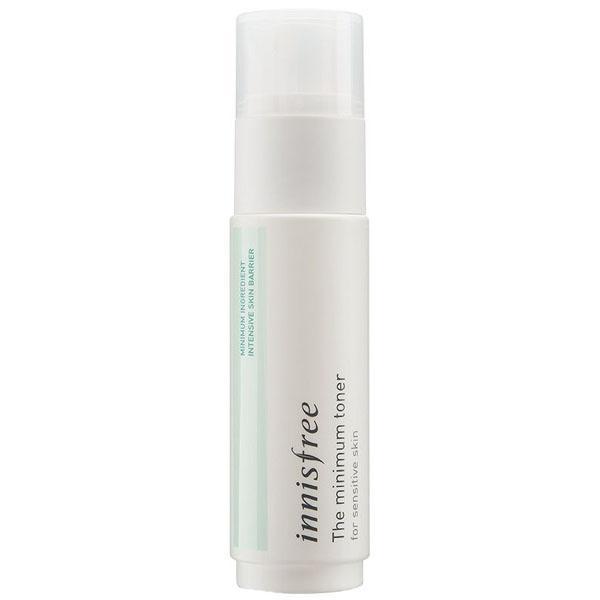 Гипоаллергенный тонер для чувствительной кожи Innisfree The Minimum Toner