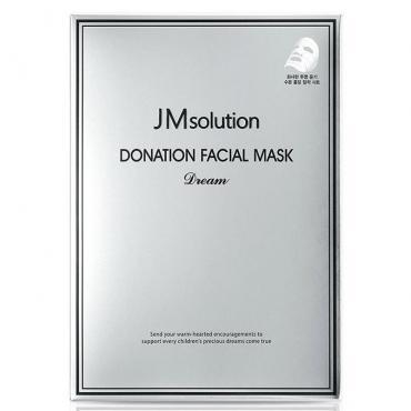 Увлажняющая тканевая маска с пептидами  JM Solution
