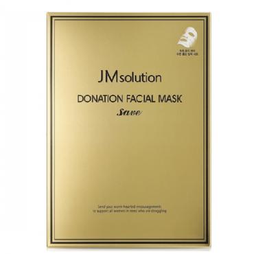 Увлажняющая маска для лица  JM Solution Donation Facial Mask Save