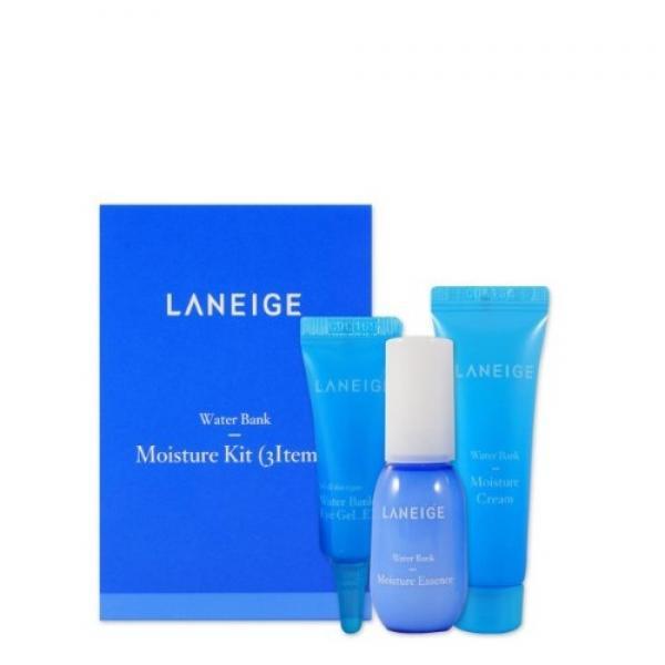 Набор миниверсий увлажняющий  LANEIGE Water Bank Moisture Kit (3Items)