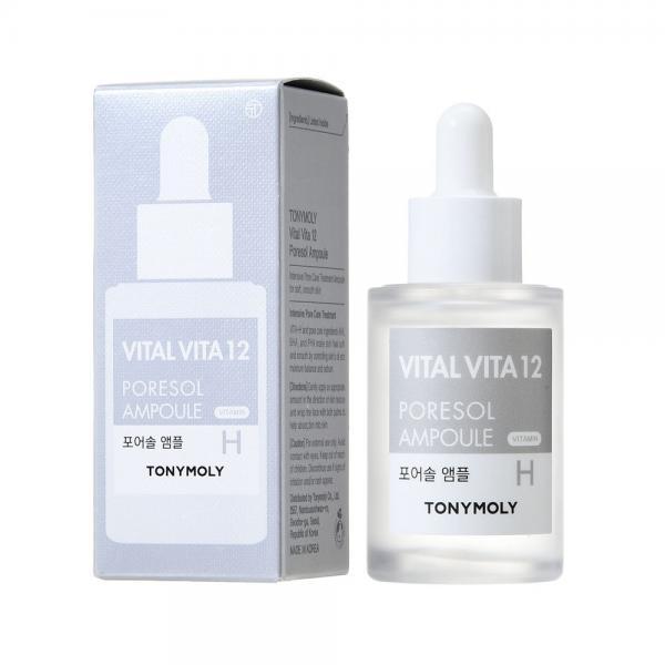 Сыворотка для сужения пор Tony Moly Vital Vita 12 Poresol Ampoule Н