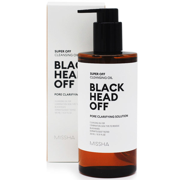 Гидрофильное масло MISSHA Super Off Cleansing Oil Blackhead Off 305 ml
