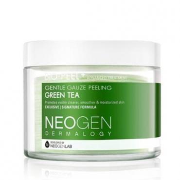 Пилинговые диски с зеленым чаем Neogen Dermalogy Bio Peel Gauze Peeling – Green Tea