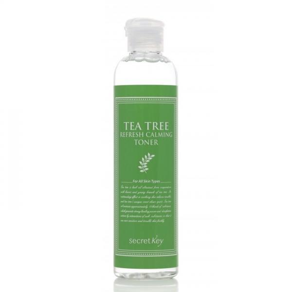 """Освежающий и успокаивающий тоник """"Чайное дерево"""" Secret key Tea Tree Refresh Calming Toner"""