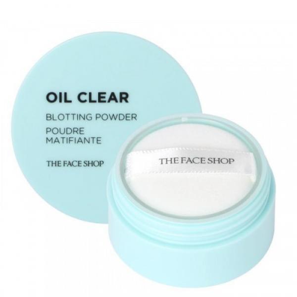 Матирующая пудра для жирной и комбинированной кожи The Face Shop Oil Clear Blotting Powder Matifiante