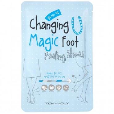 """Пилинг для ног """"Волшебные ножки""""  Tony Moly Changing U Magic Foot Peeling Shoes"""