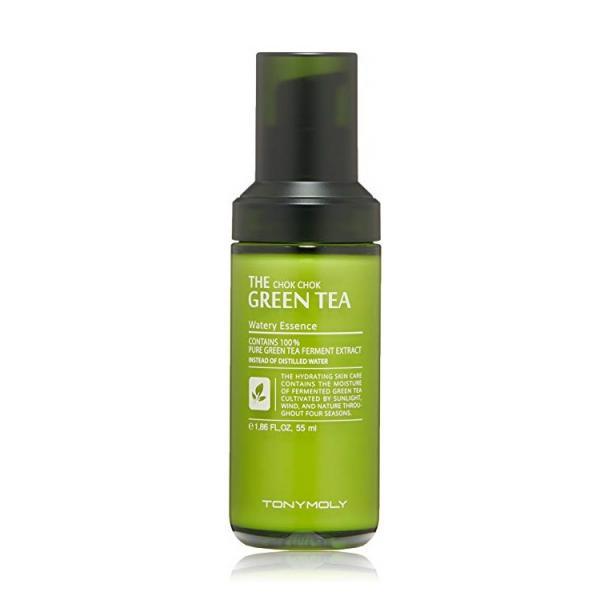 Увлажняющая эссенция с экстрактом зеленого чая