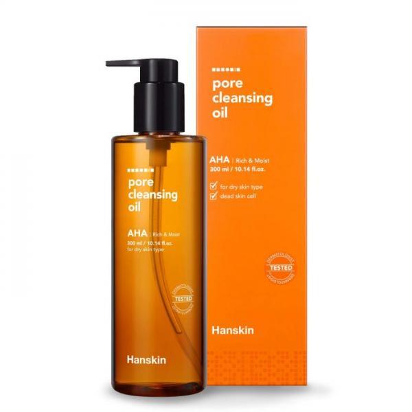 Гидрофильное масло с AHA для сухой кожи