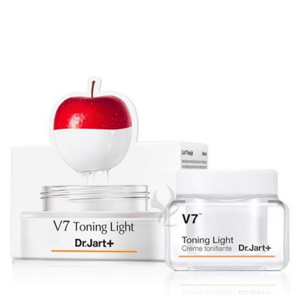 Легкий осветляющий крем Dr.Jart+ V7 Toning Light Cream 15 мл