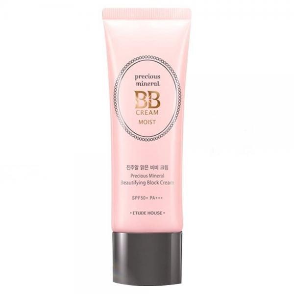 Минеральный ББ крем ETUDE HOUSE Precious Mineral BB Cream Moist SPF50+/PA+++ (VANILLA)