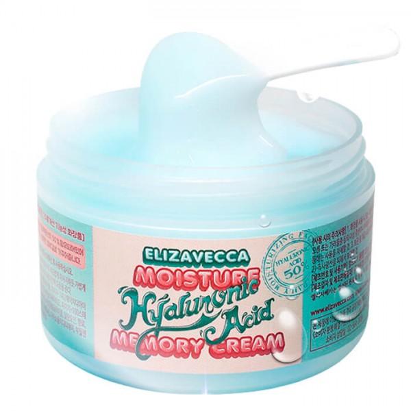 Крем-пудинг с гиалуроновой кислотой Elizavecca Moisture Hyaluronic Acid Memory Cream