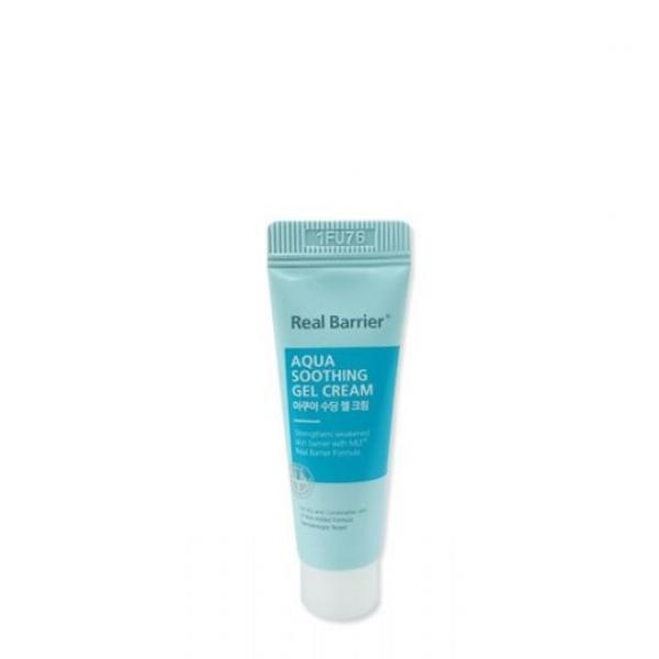 Глубко увлажняющий гель-крем Real Barrier Aqua Soothing Gel Cream 10ml