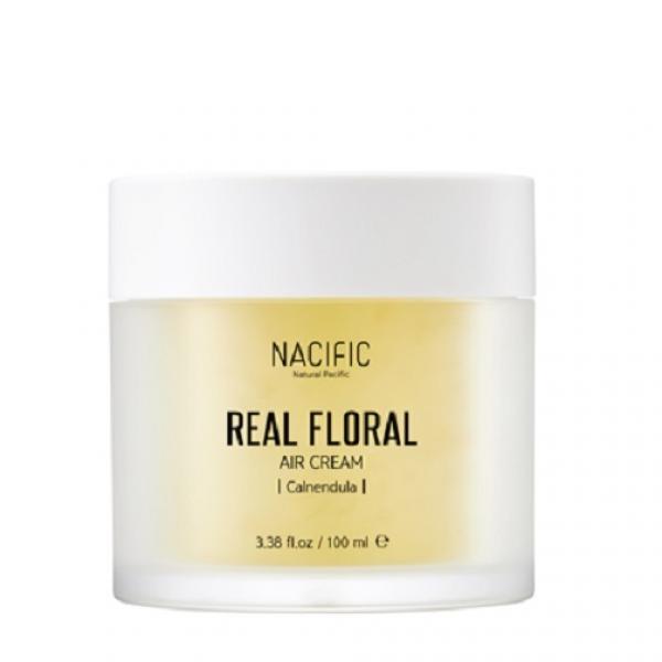 Гель-крем с лепестками календулы NACIFIC Real Floral Air Cream Calendula 100 мл
