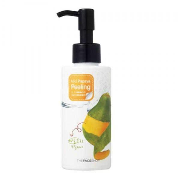 Пилинг-скатка с экстрактом папайи THE FACE SHOP Smart Peeling Mild Papaya Peeling